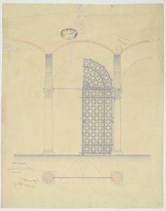 Ascra, Fondo carte topografiche, mappa125 particolare cancello