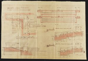 ASCRa, Busta speciale 130 f. 1 piante Arata prog. scale sec