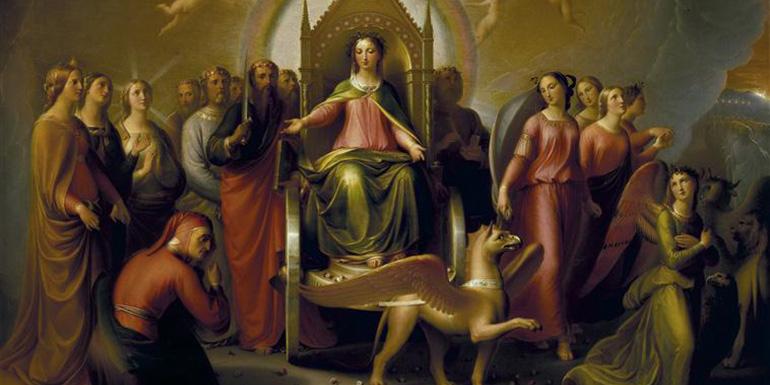 Andrea Pierini, Incontro di Dante con Beatrice nel Purgatorio